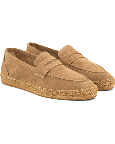 Castañer Nacho Casual Suede Loafers Vision