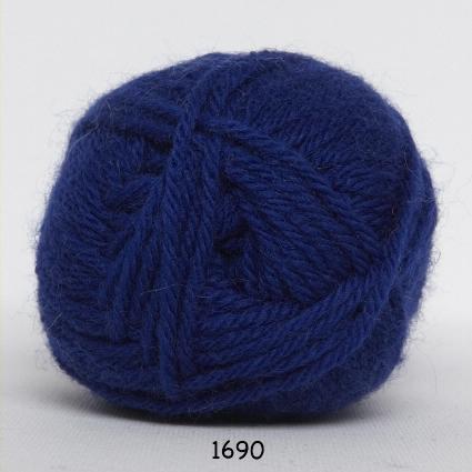 Lima - Uldgarn - fv 1690 Konge Blå