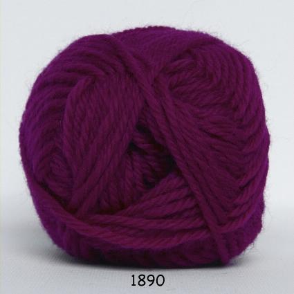 Lima - Uldgarn - fv 1890 Mørk Pink