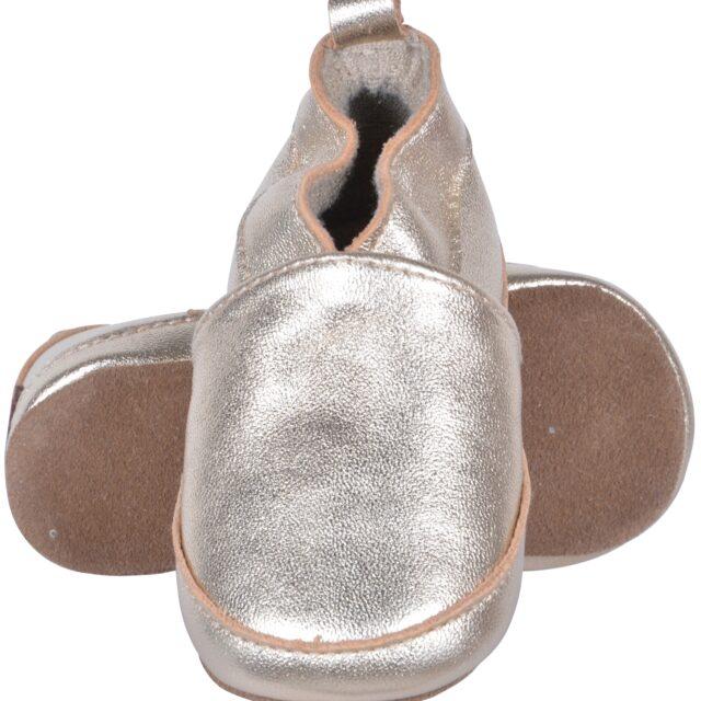 Hjemmesko fra Melton - Mini Loafers - Gold