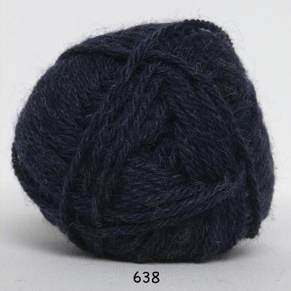 Lima - Uldgarn - fv 638 Blå Lilla