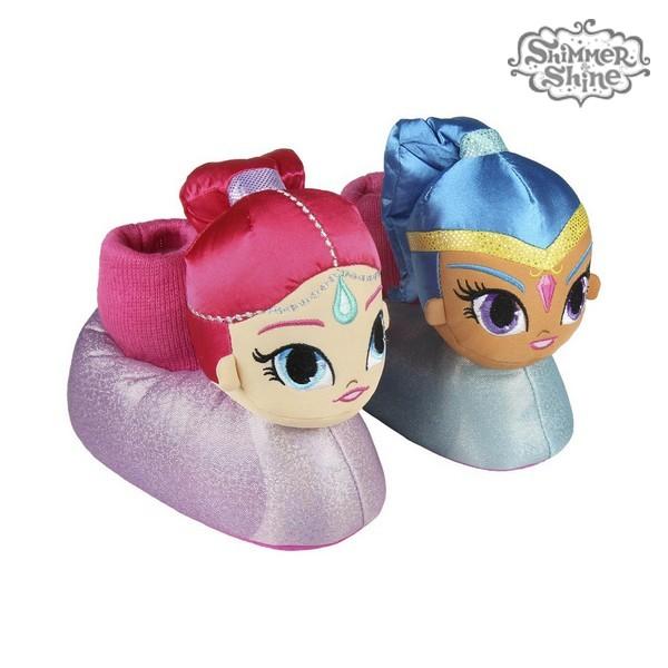 3D Hjemmesko Til Børn Shimmer and Shine 73347