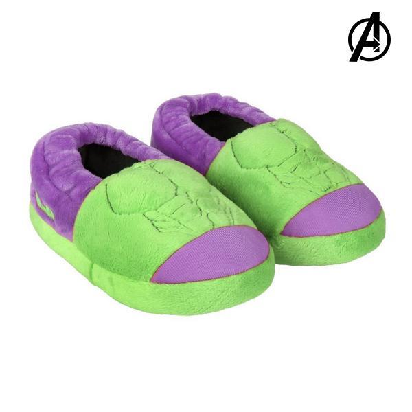 3D Hjemmesko Til Børn Hulk The Avengers 73372 Grøn