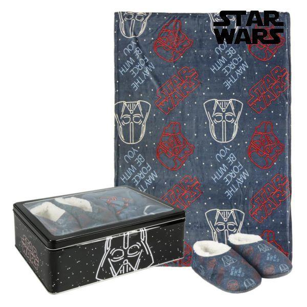 Metalæsken med Tæppe og Sutsko Star Wars 73674 (3 pcs) Sort