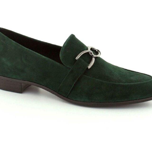 Vagabond Loafers, (Mørk grøn)