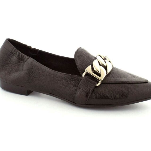 Billi Bi Loafers, (Sort)