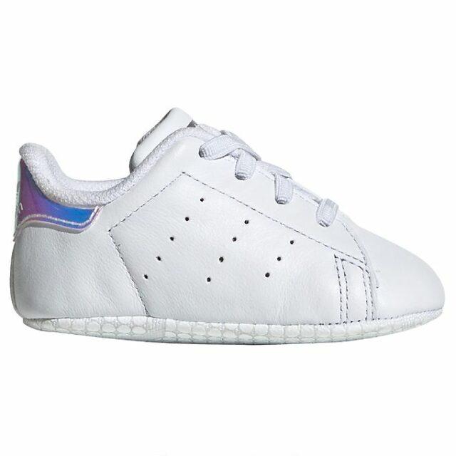 adidas Originals Hjemmesko - Stan Smith Crib - Hvid