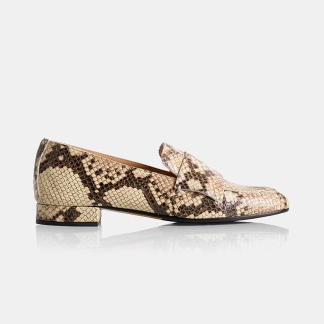 ATP Atelier - Winnie loafers med print (Størrelse: 41)
