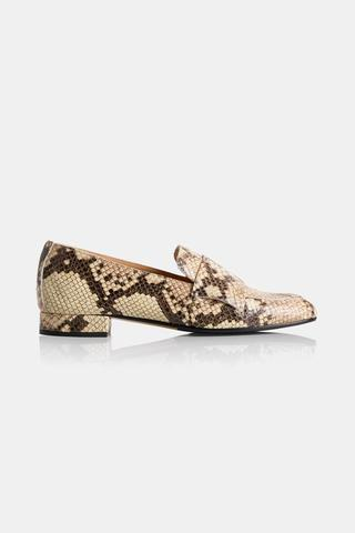 Atp Atelier - Winnie Loafers Med Print