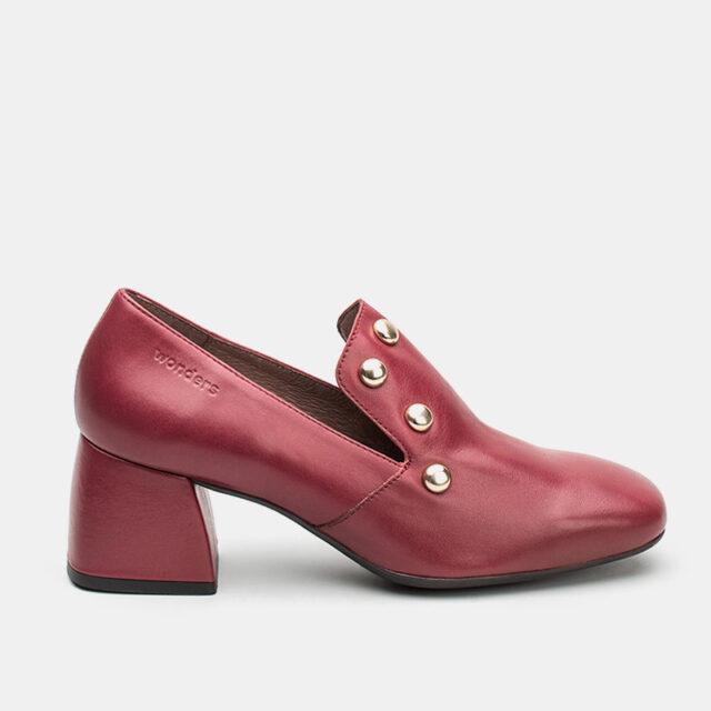 Wonders - H-3321 Iseo loafers i rød (Størrelse: 36)