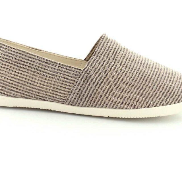 Vagabond sko dame - Lily loafer (sand, str. 40, Tekstil) - Udsalg