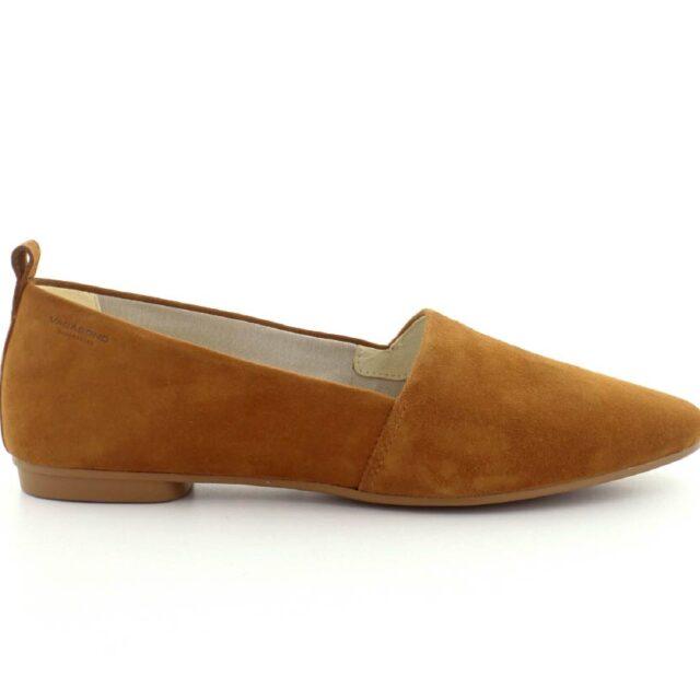 Vagabond sko dame - Sandy loafer (cognac, str. 37, Ruskind) - 2020 Nyheder