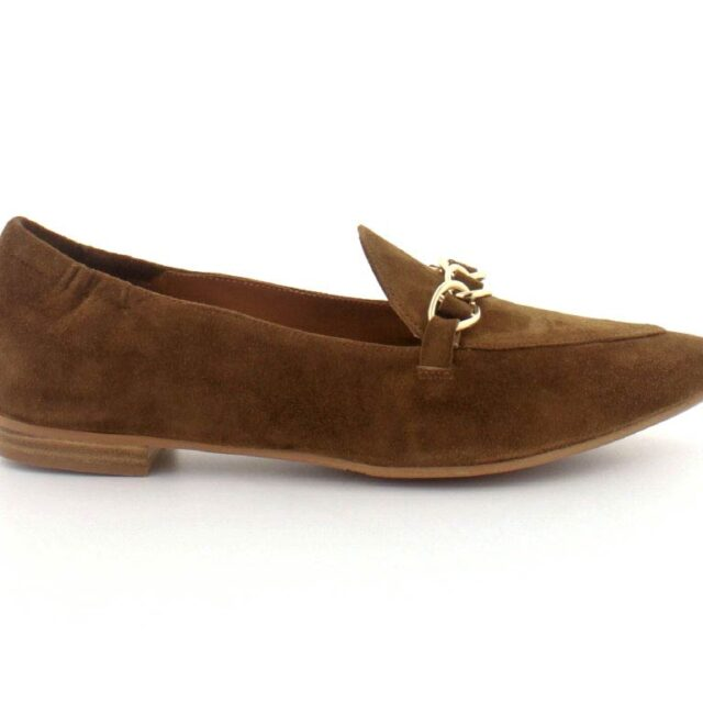 Billi Bi Loafers, (Mørk brun)