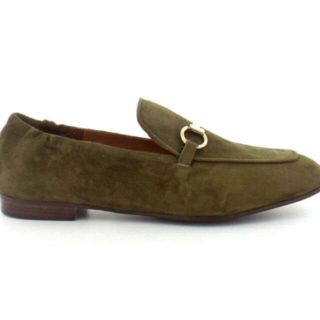 Billi Bi Loafers, (Army grøn)